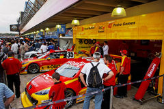 samochód interlagos akcje Zdjęcie Stock