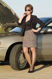 samochód kłopotów Fotografia Royalty Free