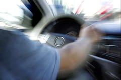 Samochód kierownica Obrazy Royalty Free