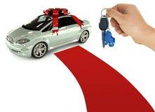 samochód klucza prezent Obraz Stock