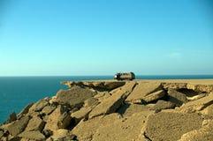 samochód kołysa Sahara western Zdjęcia Royalty Free