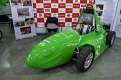 samochód konstruował formuły hybrydu uczni fotografia royalty free