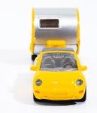 samochód ma przyczepę cabrio zabawka Zdjęcie Stock