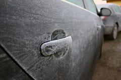 samochód marznący Zdjęcia Stock