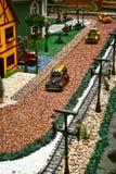Samochód miniatura - Miastowy życie fotografia royalty free