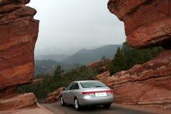 samochód motorowe góry Obraz Royalty Free