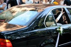 samochód na ślub obraz royalty free