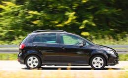 Samochód na autostradzie Zdjęcie Royalty Free