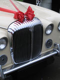 samochód na ślub Fotografia Royalty Free