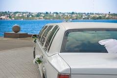 samochód na ślub Fotografia Stock