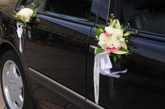 samochód na ślub Zdjęcia Stock