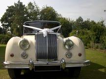samochód na ślub Zdjęcie Royalty Free