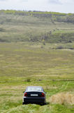 Samochód na natury tle 2 Obrazy Royalty Free