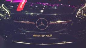 Samochód na pokazie przy Wietnam motorowym przedstawieniem 2017 Fotografia Royalty Free