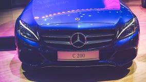 Samochód na pokazie przy Wietnam motorowym przedstawieniem 2017 Zdjęcia Royalty Free