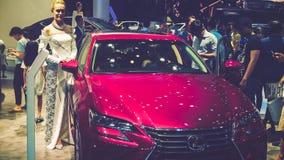 Samochód na pokazie przy Wietnam motorowym przedstawieniem 2017 Obraz Royalty Free