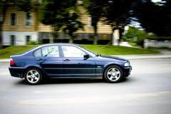 samochód na ulicy prędkości Zdjęcie Royalty Free