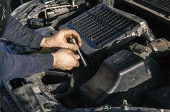 Samochód naprawy w usługa Obraz Royalty Free