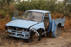 samochód niszczący Zdjęcia Royalty Free