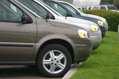 samochód nowe wozy Zdjęcia Stock