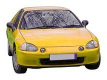 samochód odizolowane Obrazy Royalty Free