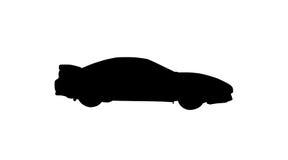 samochód odizolowane sportu royalty ilustracja