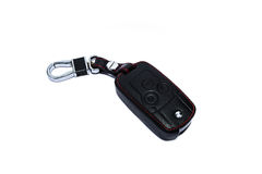 samochód odizolowywający klucz Fotografia Royalty Free
