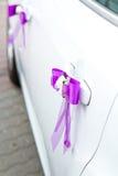 samochód odznaczony ślub Fotografia Royalty Free
