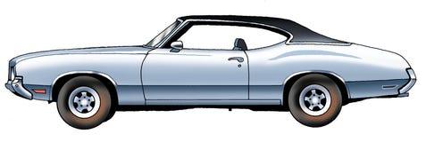 Samochód osobowy Oldsmobile Obrazy Royalty Free
