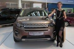 Samochód Pożycza Rover odkrycia sport zdjęcie stock