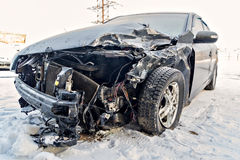 Samochód po wypadku Fotografia Stock