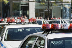 samochód policji Fotografia Stock