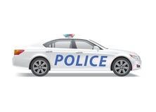 Samochód policyjny Ilustracji