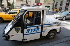 Samochód policyjny Zdjęcia Royalty Free