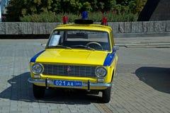 Samochód policyjny USSR Fotografia Stock