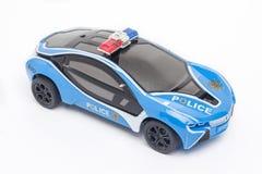 Samochód policyjny zabawka Fotografia Stock