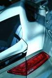 Samochód powierzchowności szczegóły bell świątecznej element projektu Fotografia Royalty Free