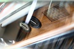 Samochód powierzchowności szczegóły bell świątecznej element projektu Obrazy Royalty Free