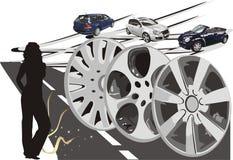 samochód prezentacji wektora Obrazy Royalty Free