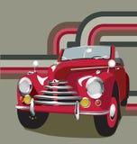 samochód retro ilustracji