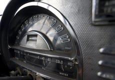 Samochód retro Deska rozdzielcza Obrazy Royalty Free