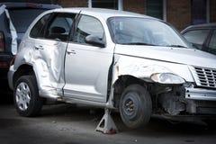 samochód rozbijający Obrazy Royalty Free