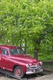 samochód rozdzielać retro rosjanina Fotografia Royalty Free