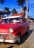 samochód samochód retro sepiowy roczne Obraz Royalty Free