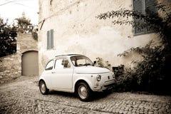 samochód samochód retro sepiowy roczne Fotografia Royalty Free