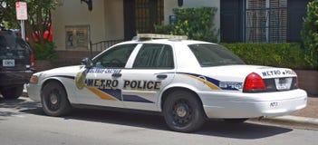 Samochód sawanna metropolita departament policji Zdjęcia Royalty Free