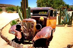 samochód stary Obraz Royalty Free