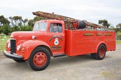 Samochód strażacki na pośpiechu obrazy royalty free