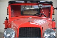 Samochód strażacki na pośpiechu Zdjęcie Stock