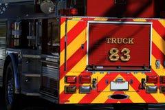 samochód strażacki obrazy stock